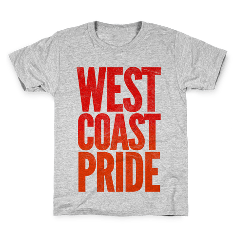 West Coast Pride Kids T-Shirt