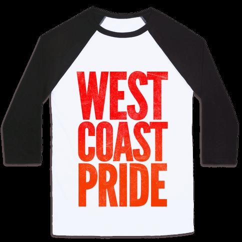 West Coast Pride Baseball Tee