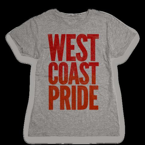 West Coast Pride Womens T-Shirt