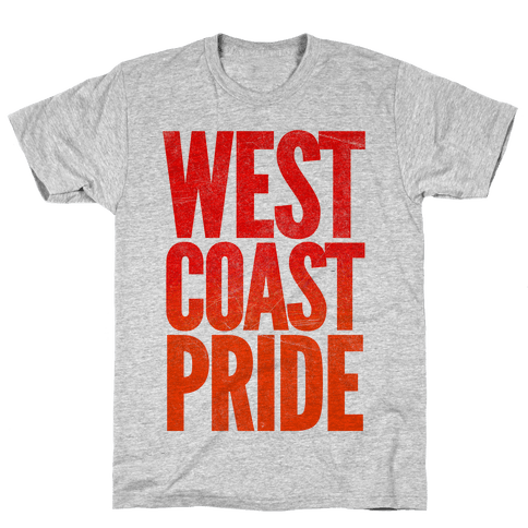 West Coast Pride Mens T-Shirt