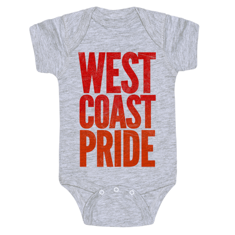 West Coast Pride Baby Onesy