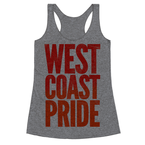 West Coast Pride Racerback Tank Top
