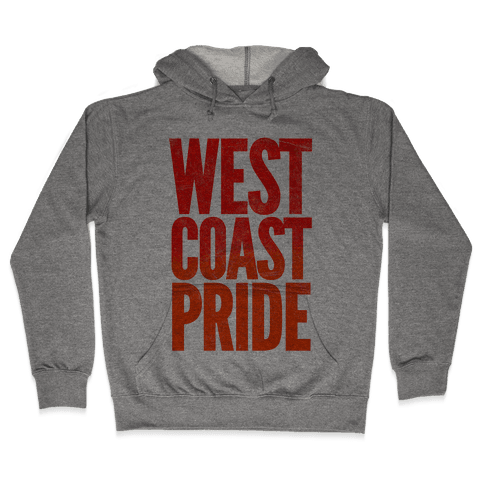 West Coast Pride Hooded Sweatshirt
