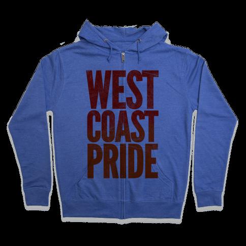 West Coast Pride Zip Hoodie