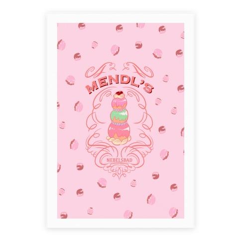Mendl's Bakery Poster