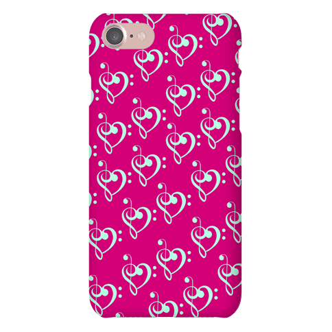 Music Clef Pattern Phone Case