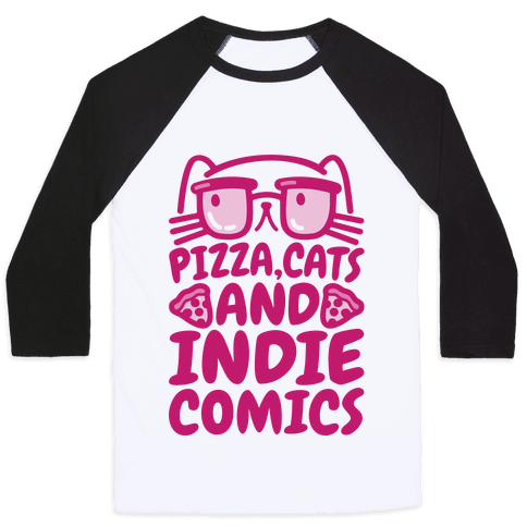 Pizza, Cats and Indie Comics