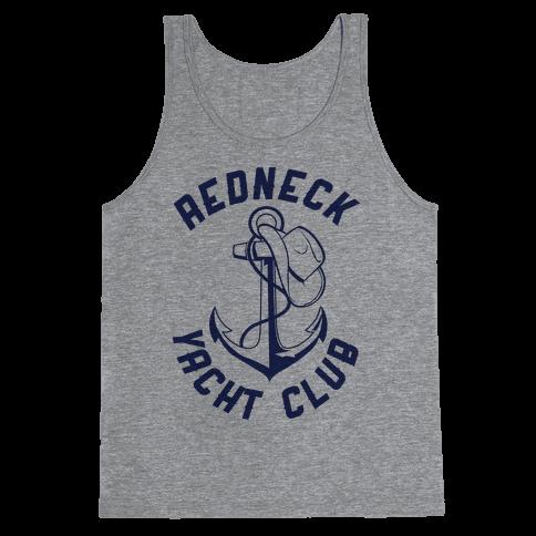Redneck Yacht Club Tank Top