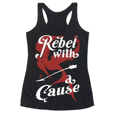 Rebel With A Cause Racerback Tank Top