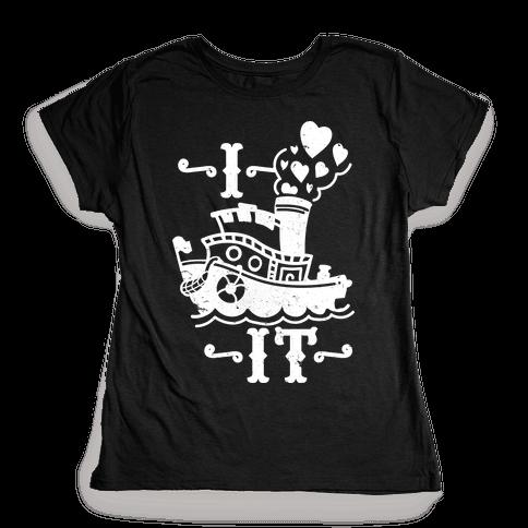 I Ship it Womens T-Shirt