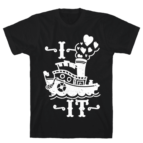I Ship it Mens T-Shirt
