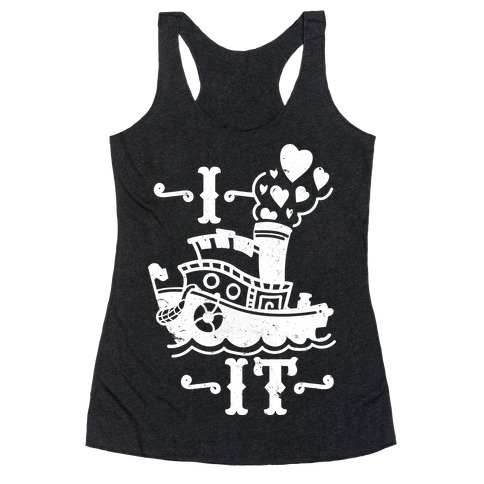 I Ship it Racerback Tank Top
