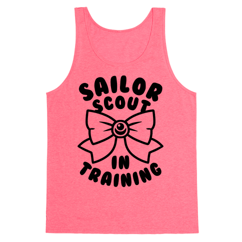 Sailor Scout In Training Tank Top