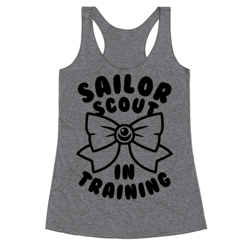 Sailor Scout In Training Racerback Tank Top