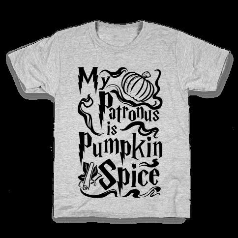 My Patronus is Pumpkin Spice Kids T-Shirt