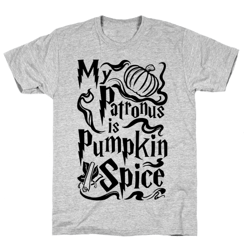 My Patronus is Pumpkin Spice Mens T-Shirt