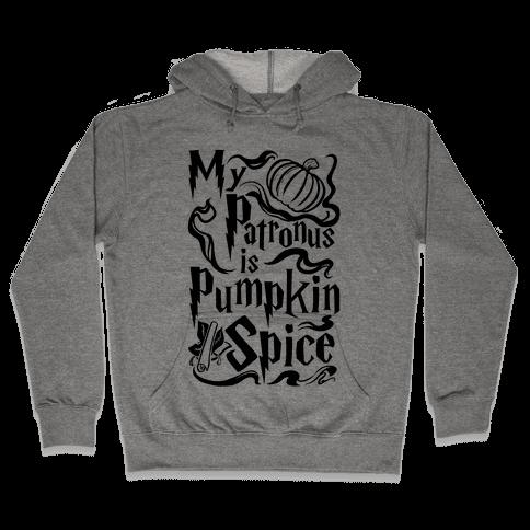My Patronus is Pumpkin Spice Hooded Sweatshirt