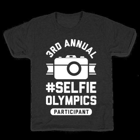 Selfie Olympics Kids T-Shirt