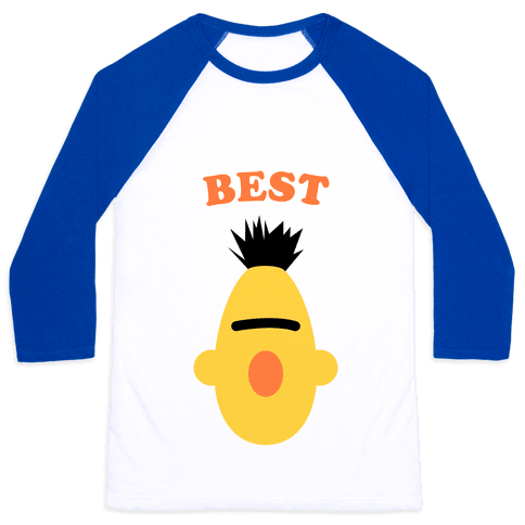 Best Friends (Yellow) Baseball Tee