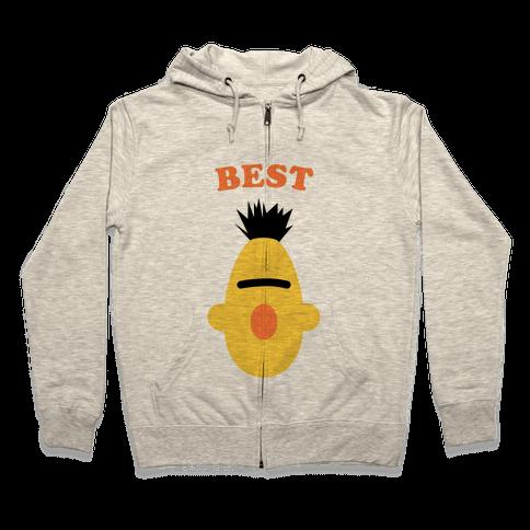 Best Friends (Yellow) Zip Hoodie