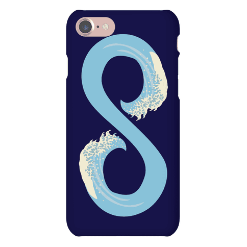 Ocean Infinity (Light Blue) Phone Case
