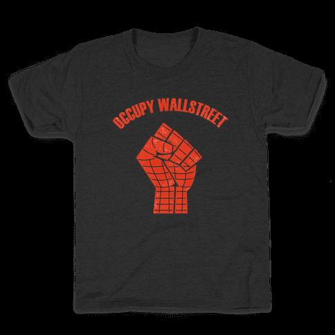 Occupy Wallstreet  Kids T-Shirt