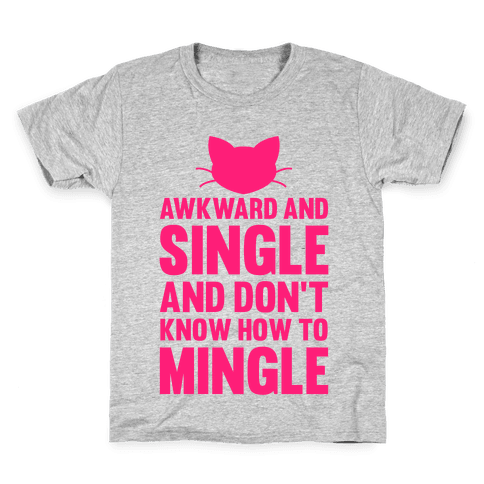Awkward And Single Kids T-Shirt