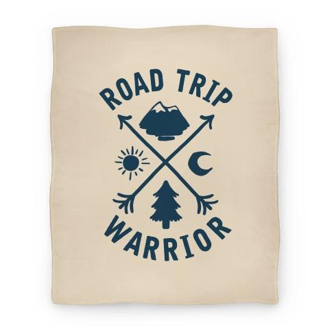 Road Trip Warrior Blanket