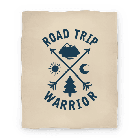 Road Trip Warrior Blanket