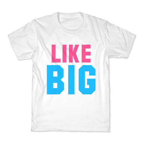 Like Big Like Little (Big) Kids T-Shirt