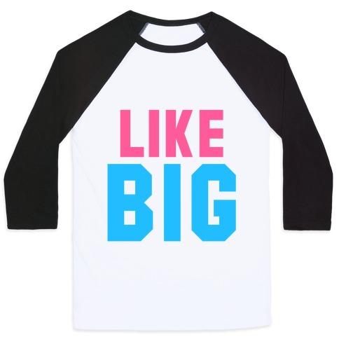 Like Big Like Little (Big) Baseball Tee