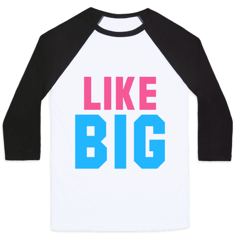 Like Big Like Little (Big) Baseball Tee