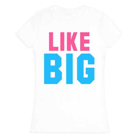 Like Big Like Little (Big) Womens T-Shirt