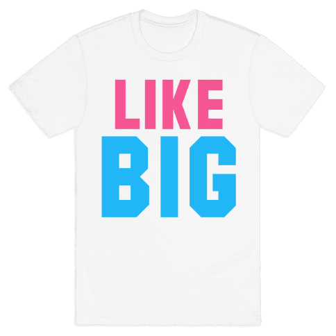 Like Big Like Little (Big) Mens T-Shirt