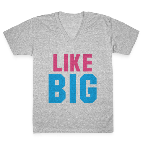 Like Big Like Little (Big) V-Neck Tee Shirt
