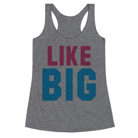 Like Big Like Little (Big) Racerback Tank Top
