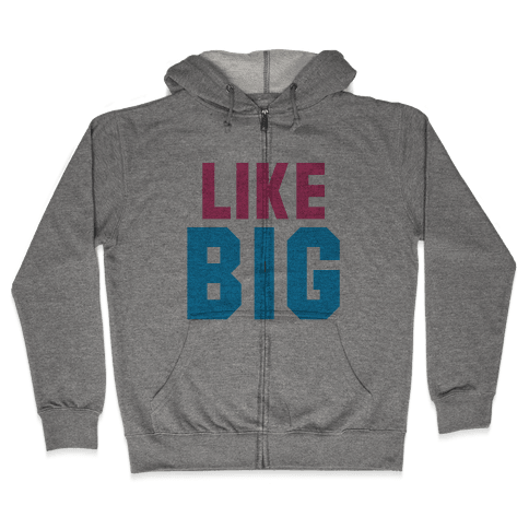 Like Big Like Little (Big) Zip Hoodie