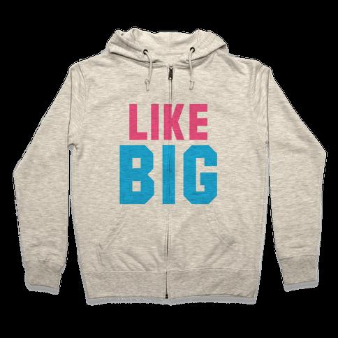 Like Big Like Little (Big) Zip Hoodie