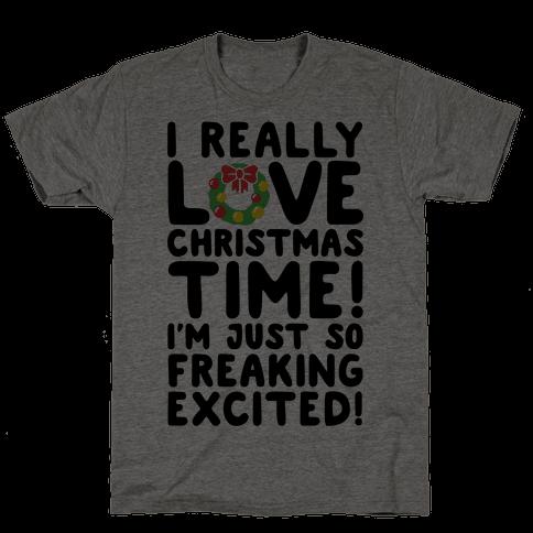 I Really Love Christmas Time!