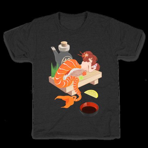 Mermaid Sushi Kids T-Shirt