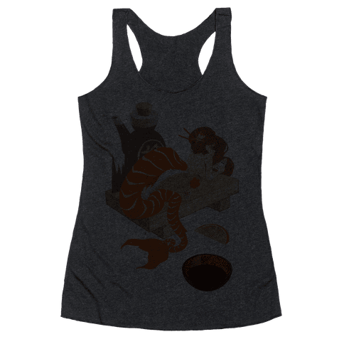 Mermaid Sushi Racerback Tank Top