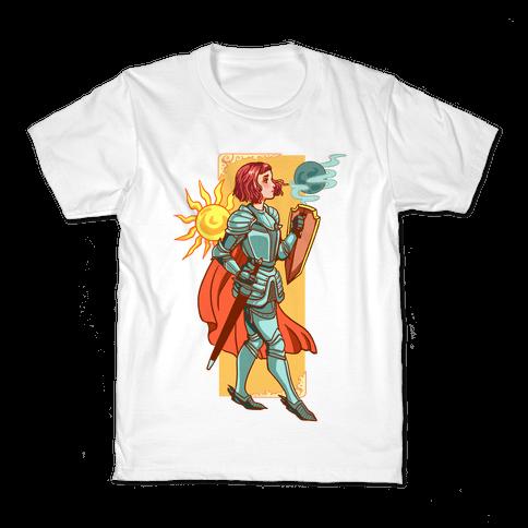 A Knight's Honor Kids T-Shirt