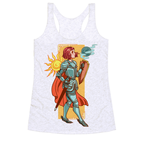 A Knight's Honor Racerback Tank Top