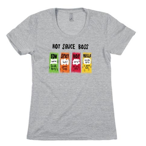Hot Sauce Boss Womens T-Shirt