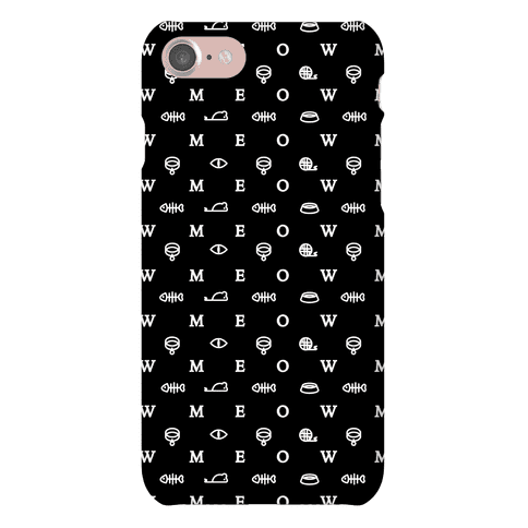 Meow Iconography Phone Case