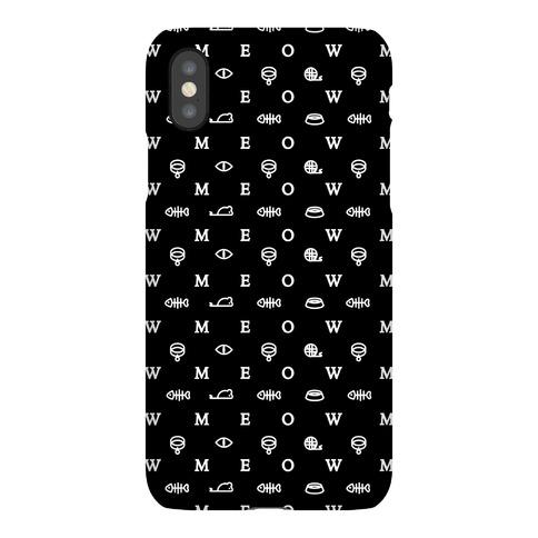 Meow Iconography Phone Case