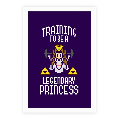 Training To Be A Legendary Princess Poster
