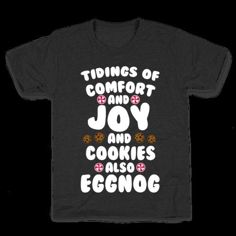 Tidings Of Comfort And Joy Kids T-Shirt