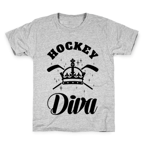 Hockey Diva Kids T-Shirt