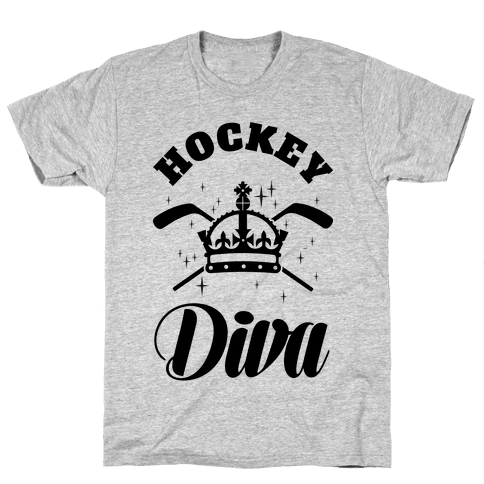 Hockey Diva Mens T-Shirt